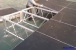 OLA001 aluminum assembly outdoor stage